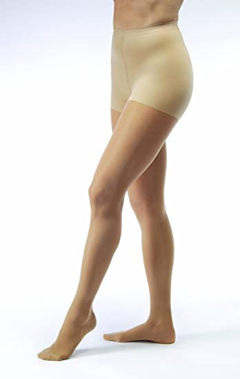450b0f65b0 Image Unavailable. Image not available for. Color: JOBST UltraSheer 8-15  mmHg Closed Toe Waist Support Stocking ...