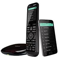 Logitech Harmony Elite Remote Control, Hub and App, works with Alexa (915-000256)
