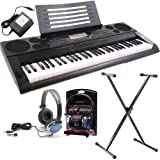 Casio CTK-6200 Hi Grade Keyboard Pack including Headphones, Westmount® Stand, Official AC Adapter and FREE lessons