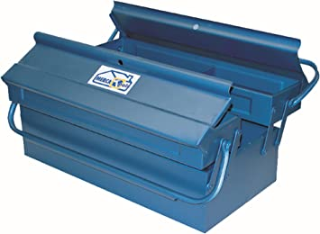 Mercatools - Caja herramientas metal 3c 400 x 200 x 160 mm merca tools: Amazon.es: Bricolaje y herramientas
