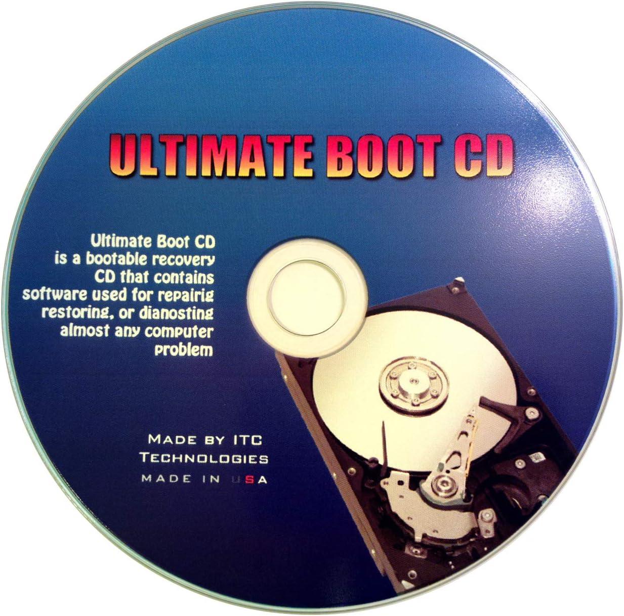 Ultimate Boot CD - Repair Windows 7, Vista, XP, 2000 - Recover lost data
