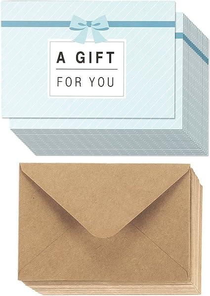36-Pack papel certificados de regalo – tarjetas de regalo para las ...