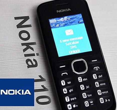 Nokia 110 Teléfono Móvil (4,5 cm (1,8 Pulgadas) Pantalla, 10 MB de ...