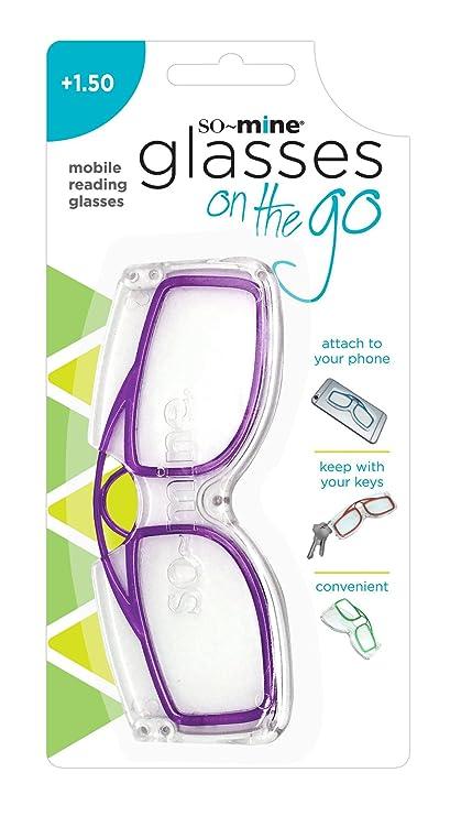 89634bbc3cc6 Amazon.com  So-Mine Reading Glasses on the Go
