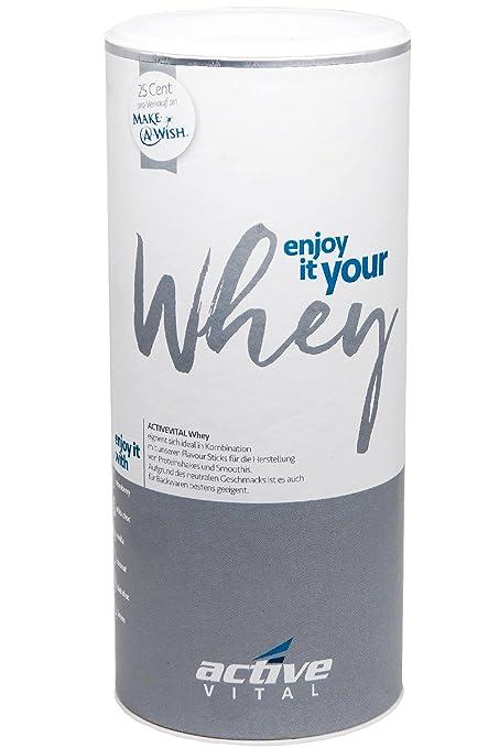 Leche activevital proteína de leche pequeño Pure en polvo (Suero de Leche) 450 G