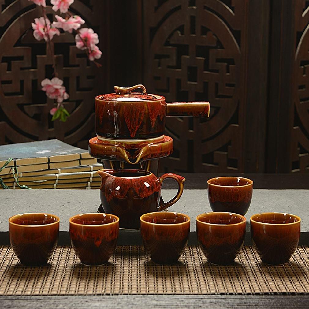 L Y Eine Vielzahl von Zeit zu Faulen Tee Set Box Automatische Kung Fu Tee-Set