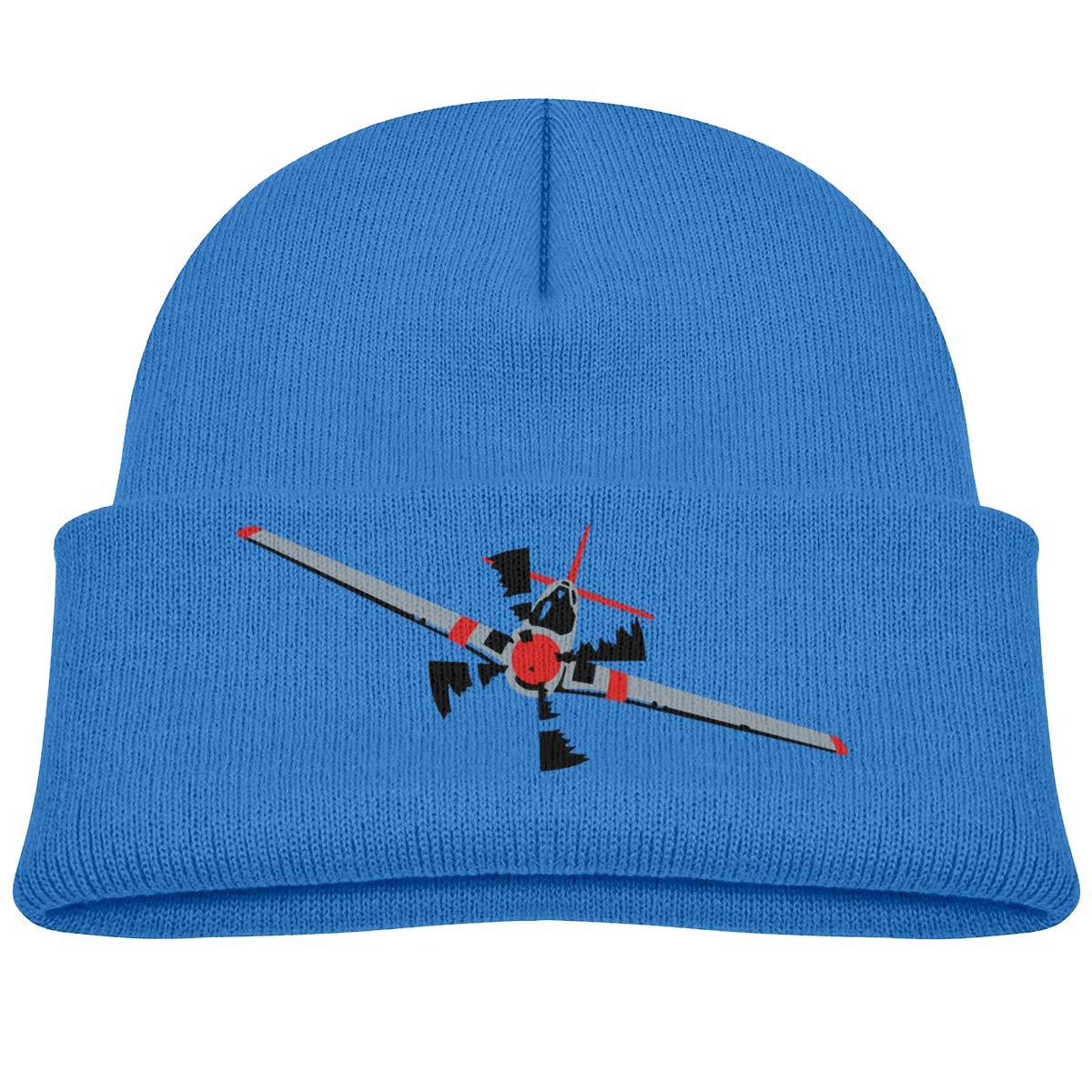 Moniery Funny Aircraft Knit Cap Baby Boy