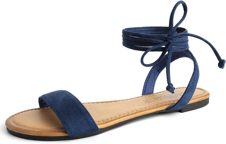 tan tie sandals