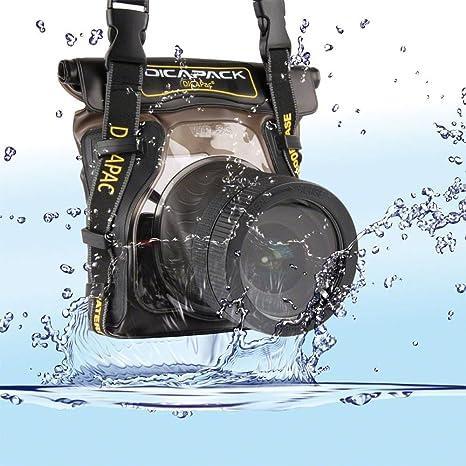 Dicapac WP-S5 - Carcasa submarina para cámara (Poliuretano, PVC ...