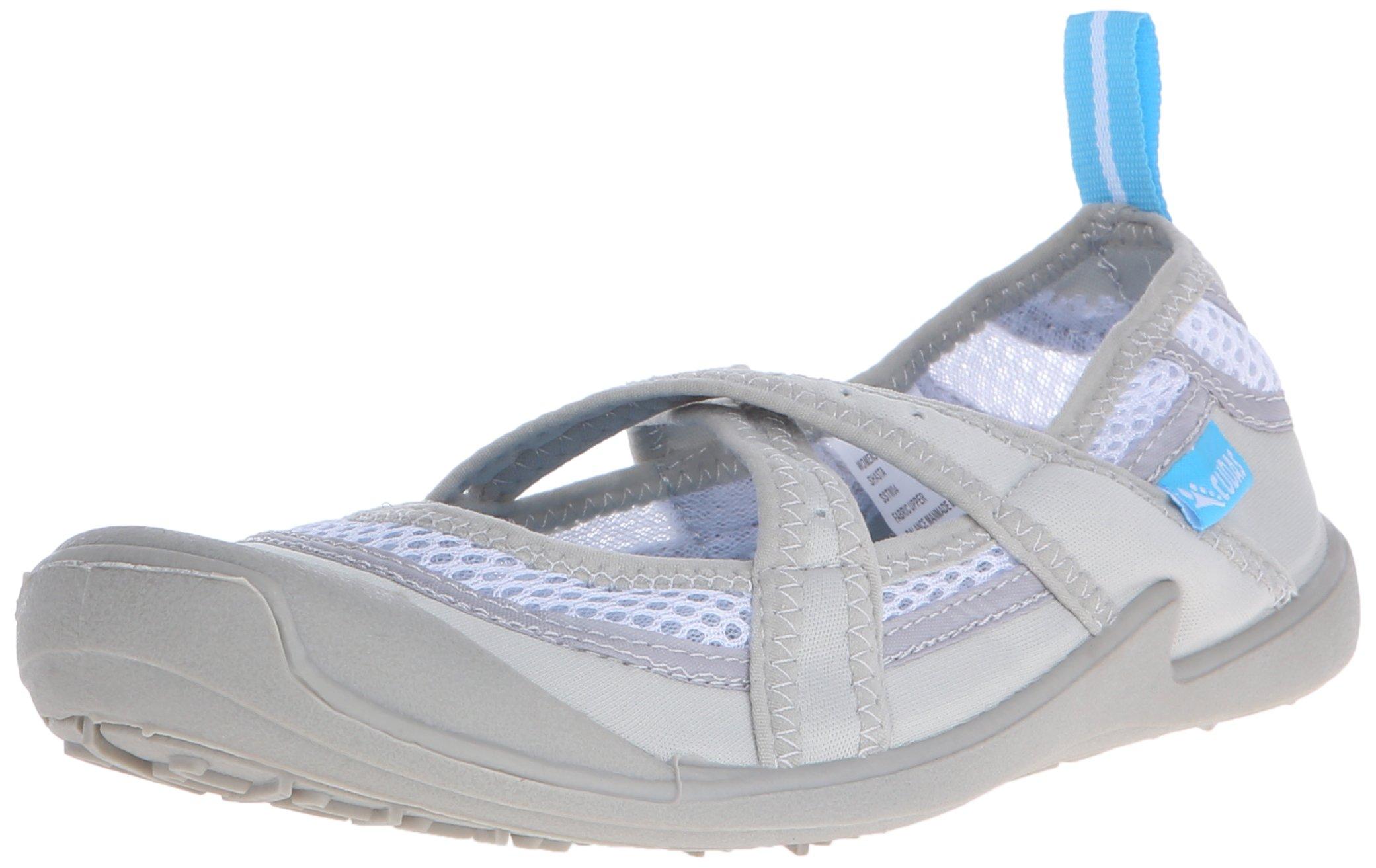 Cudas Women's Shasta Water Shoe, Silver, 9 M US