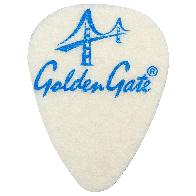 3 Pack Golden Gate FP-1 Ukulele Felt Picks