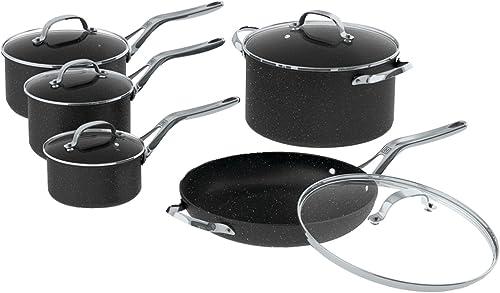ROCK firmy Starfrit 060319-001-0000 10-częściowy zestaw naczyń kuchennych