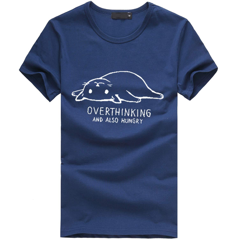 VLDO Women Girls Plus Size Print Tees Shirt Short Sleeve T Shirt Blouse Tops