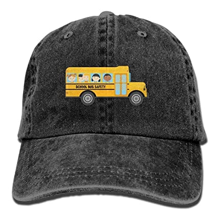 68b589fd572 Image Unavailable. Image not available for. Color  xinrun Unisex Baseball Cap  Hat School Bus Drivers Needed Adjustable ...