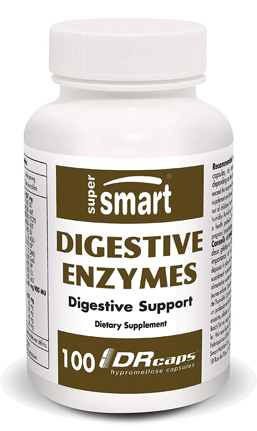 Supersmart - Gastro-Intestinal, Enzymes - Digestive Enzymes ...