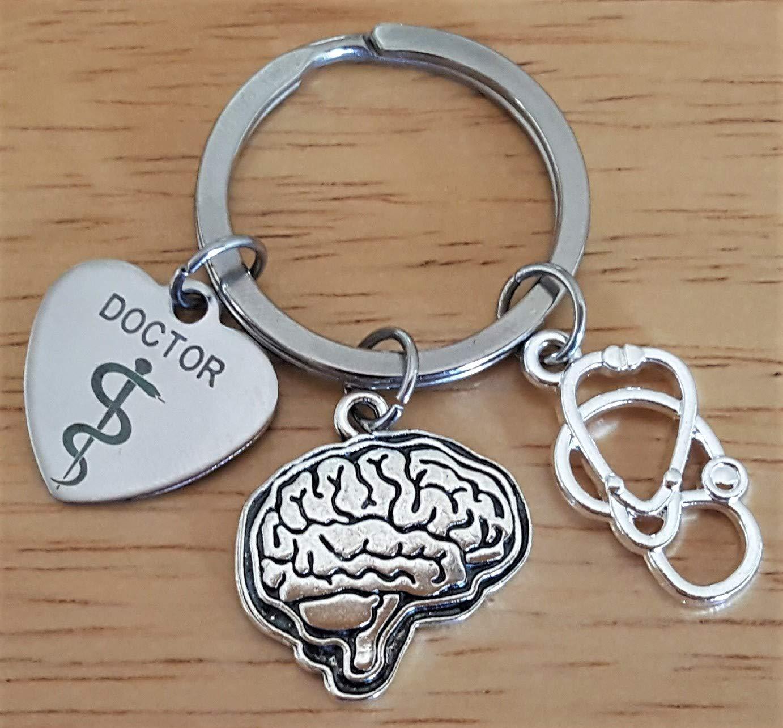 Llavero de Doctor, neurologista, estetoscopio, llavero de ...