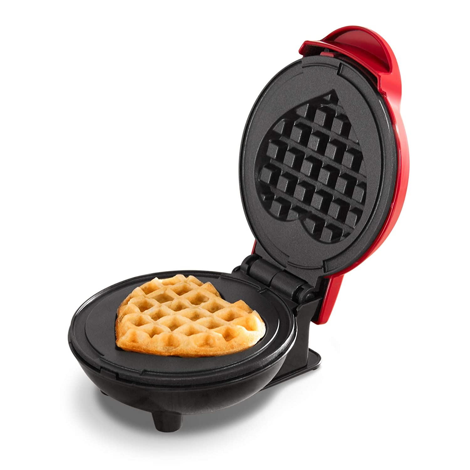 Lunch Renewed or Snacks Paninis Dash Mini Maker: The Mini Waffle Maker Machine for Individual Waffles Hash browns Black /& other on the go Breakfast