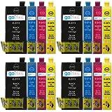 4 Go Inks Set di 4 Cartucce d'inchiostro per sostituire Epson T2715 (27XL Series) compatibile/non-OEM per Stampanti Epson Workforce (16 Inchiostri)