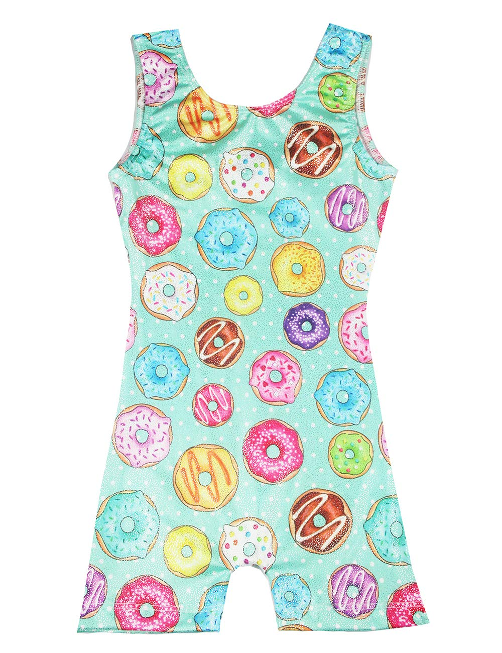 Gymnastics Leotards for Little Girls 5t 6t Sparkly Kids Dancewear Activewear Quick Dry One-Piece Gymnastic Outfits Swimwear by Midout