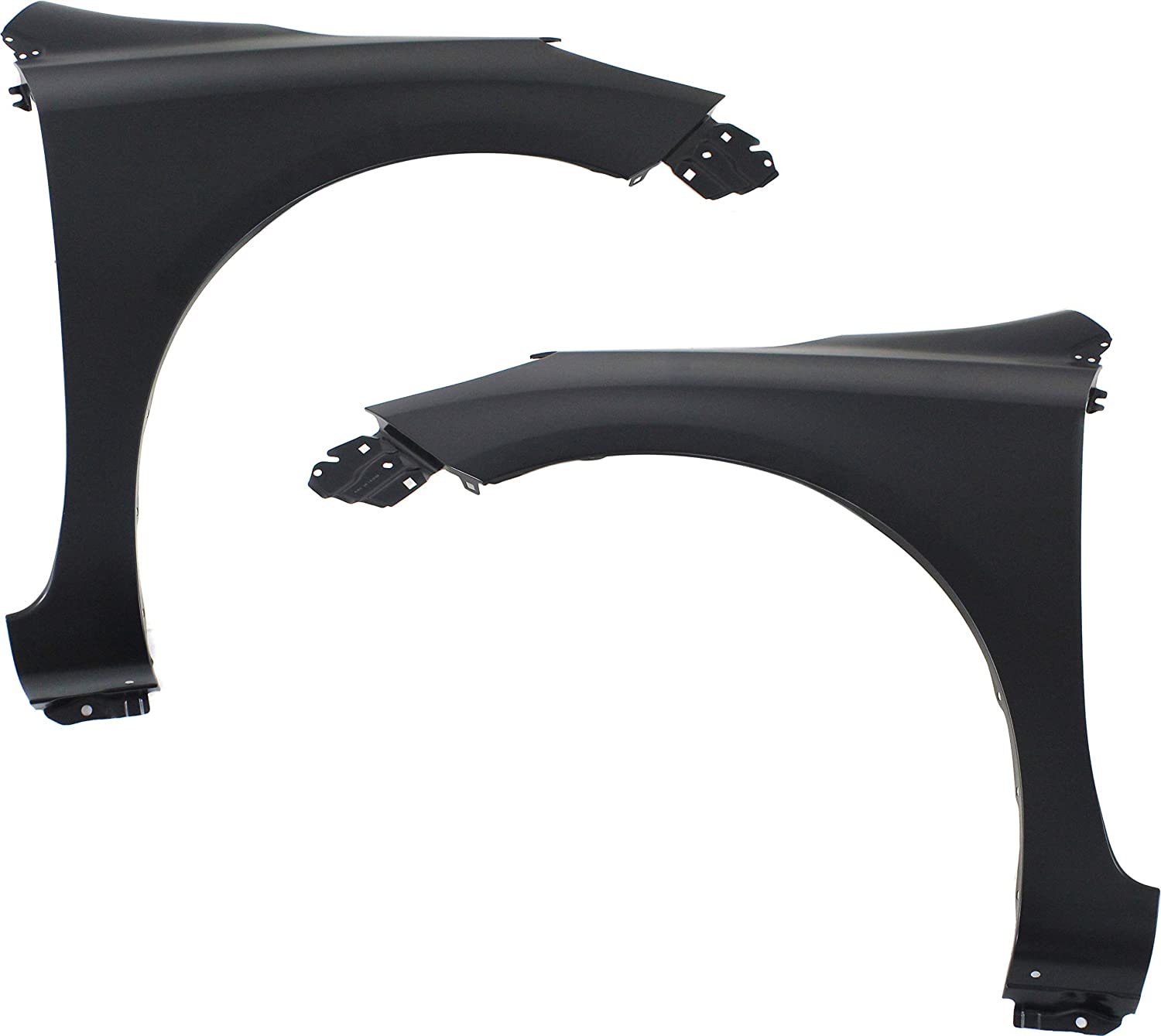 Front Fender Compatible with 2012-2017 Nissan Versa Steel Sedan Driver and Passenger Side