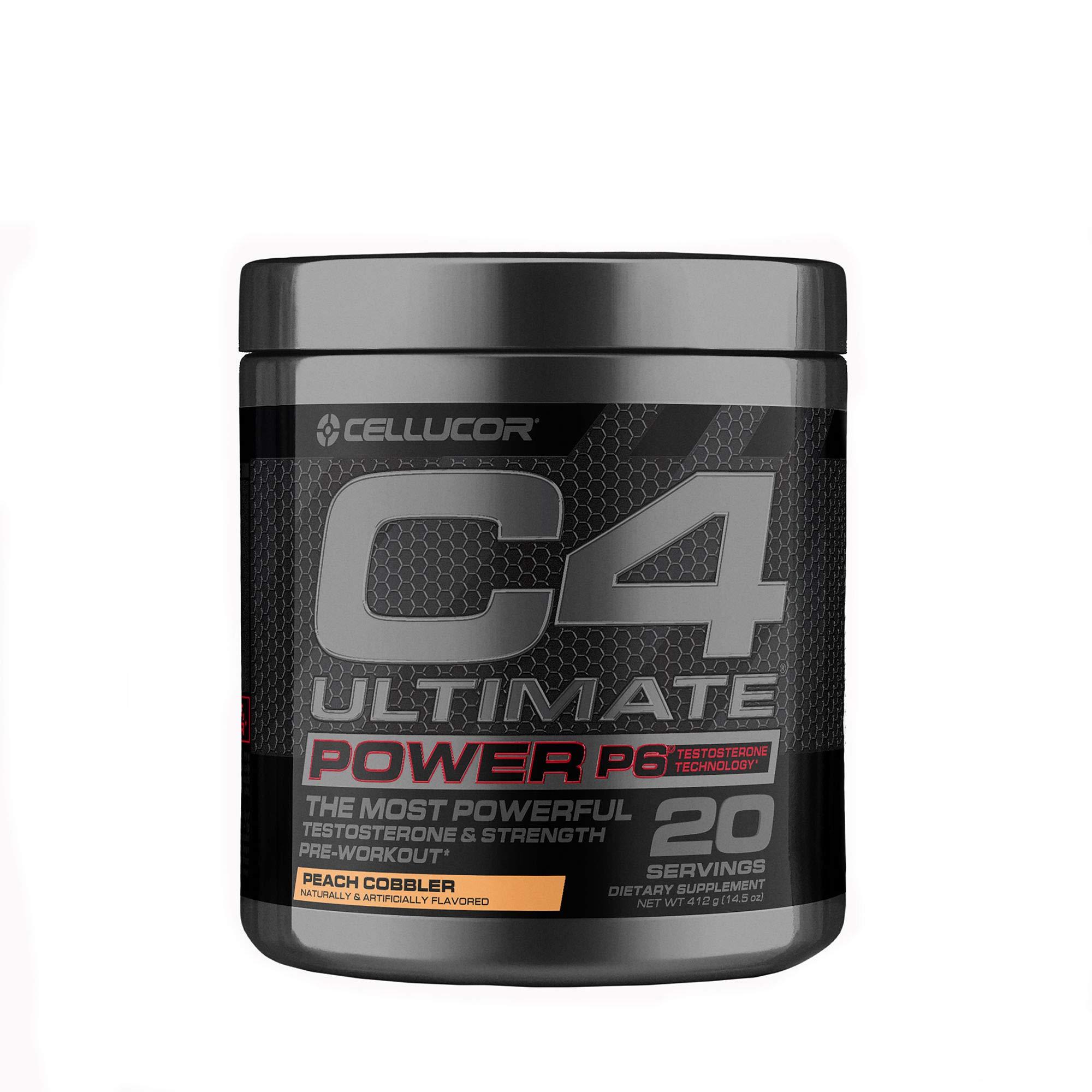 Cellucor C4 Ultimate Power P6 - Peach Cobbler
