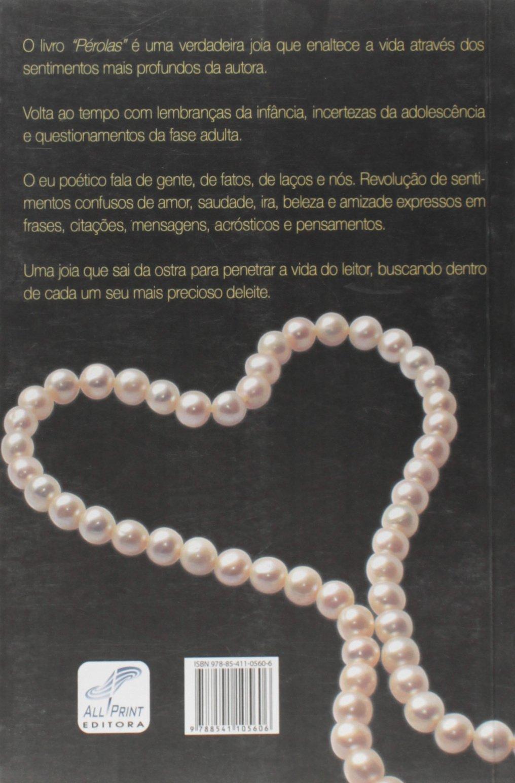 Perolas Sandra Regina Ruza Peixoto 9788541105606 Amazoncom Books