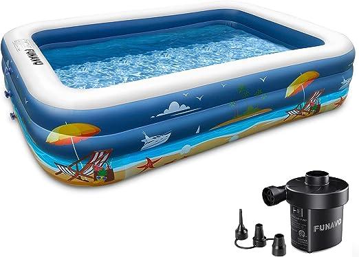 Inflatable Swimming Pool, FUNAVO 100