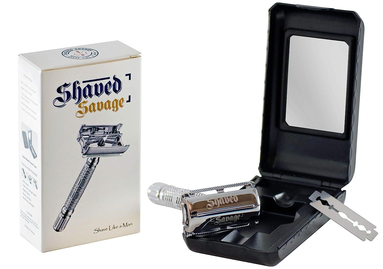 Men's Shaving Razor SHAVED SAVAGE Double Edge Safety Razor Single Blade Safety Razor