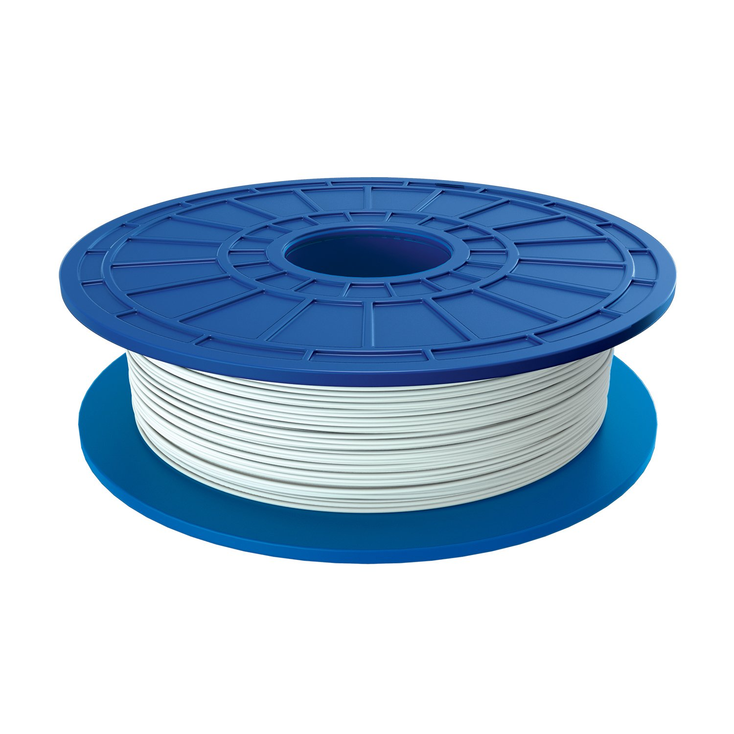 Dremel PLA 3D Printer Filament, 1.75 mm Diameter, 0.5 kg Spool Weight, White