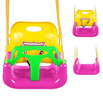 Amazon Com Neudas 3 In 1 Toddler Swing Seat Outdoor Infant Swing