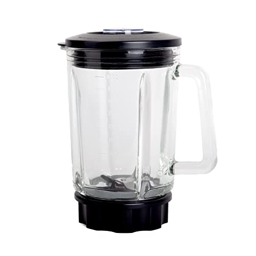 Replacement Jug for Duronic BL1200 Blender - 1.8L Glass Jug | Smoothies | Ice Crusher and Auto Clean