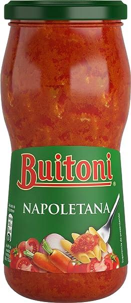 Buitoni Salsa De Tomate Napolitana, Frasco - Paquete de 12 x 400 g - Total