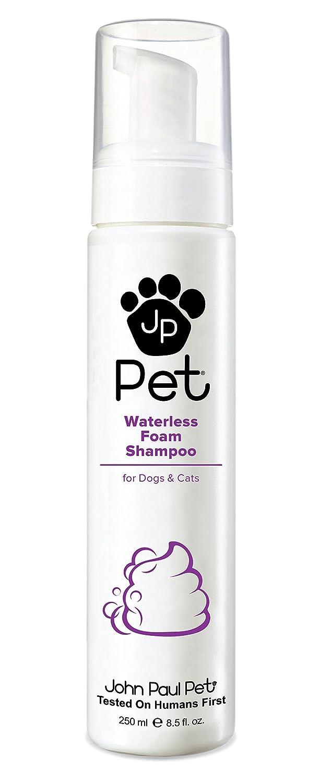 John Paul Pet Waterless Foam Dog & Cat Shampoo 8.5-Ounce JPS5521