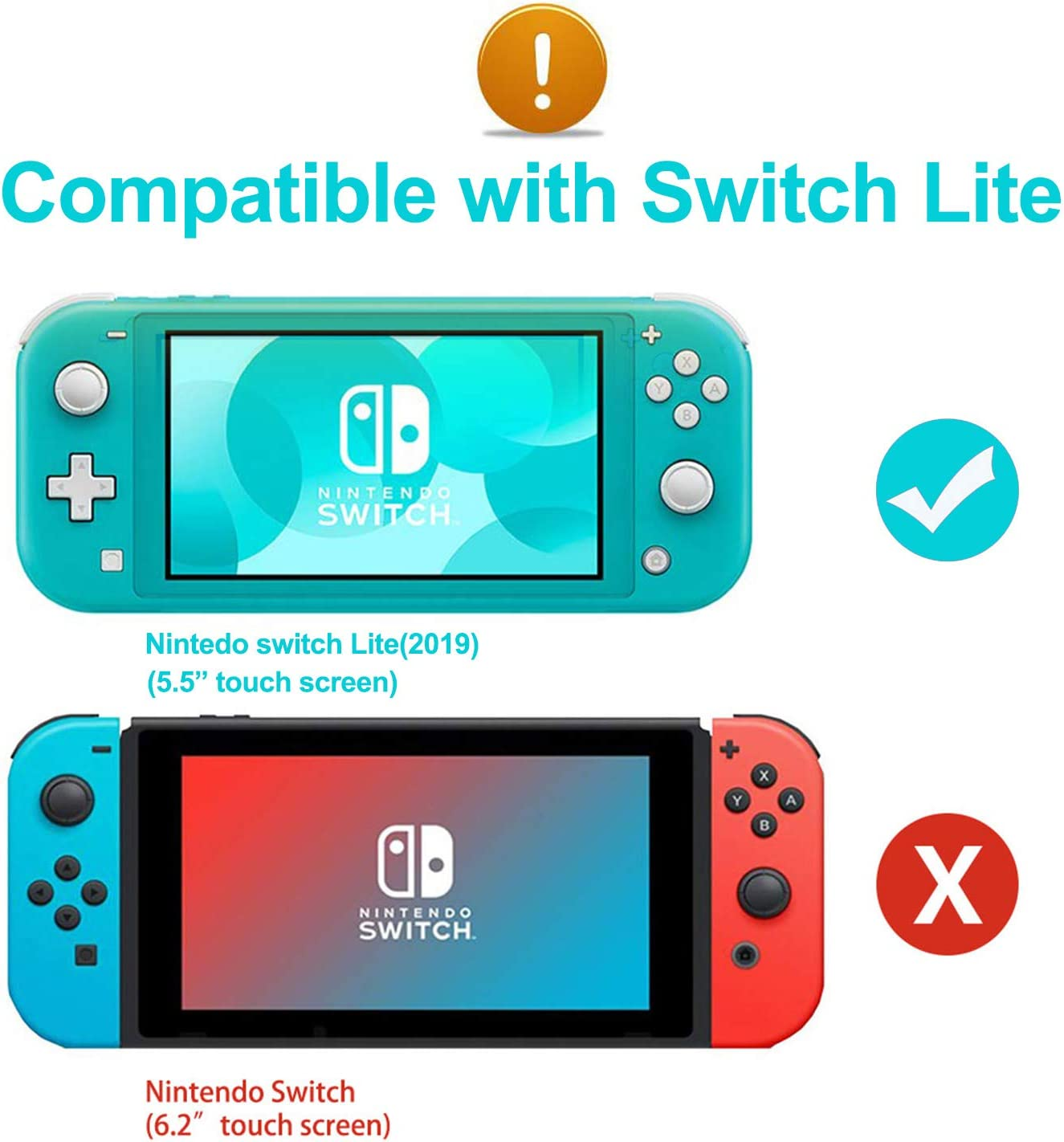 Funda protectora de silicona Chinsion para Nintendo Switch Lite ...