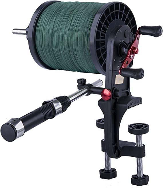 180/° Rotatable Fishing Line Winder Reel Spooler Fishing Line Spooling Accessories Tackle Detachable Compartments Fishing Rod Tools