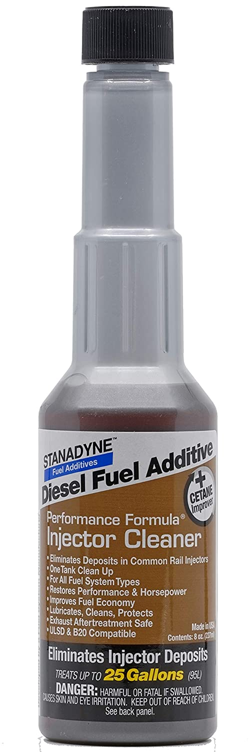 Amazon.com: Stanadyne Performance Diesel Injector Cleaner QTY of 6 - 8oz bottles #43562: Automotive