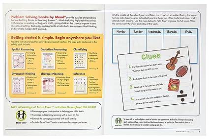 Amazon.com : Mead 3rd Grade Problem Solving Workbook, 10 x 8 ...