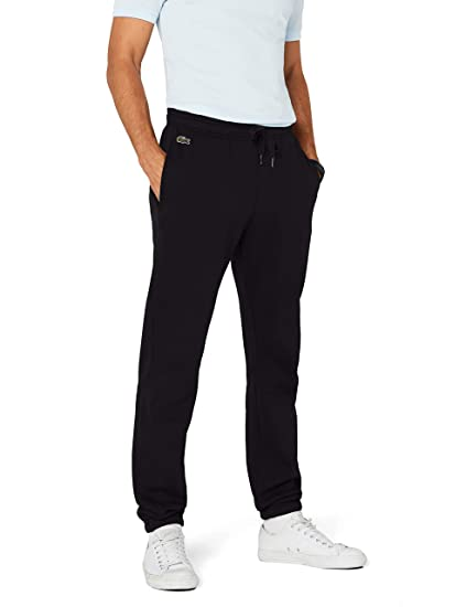 41bad54cae086d Lacoste Sport Men's XH120T Sports Pants, (Black 031), ...