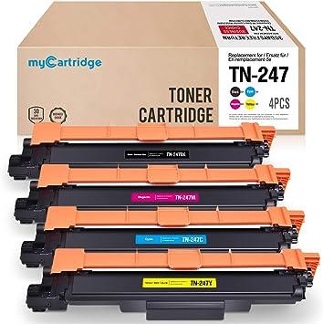 myCartridge Compatible TN-247 TN-243(Sin Chip para Brother HL ...