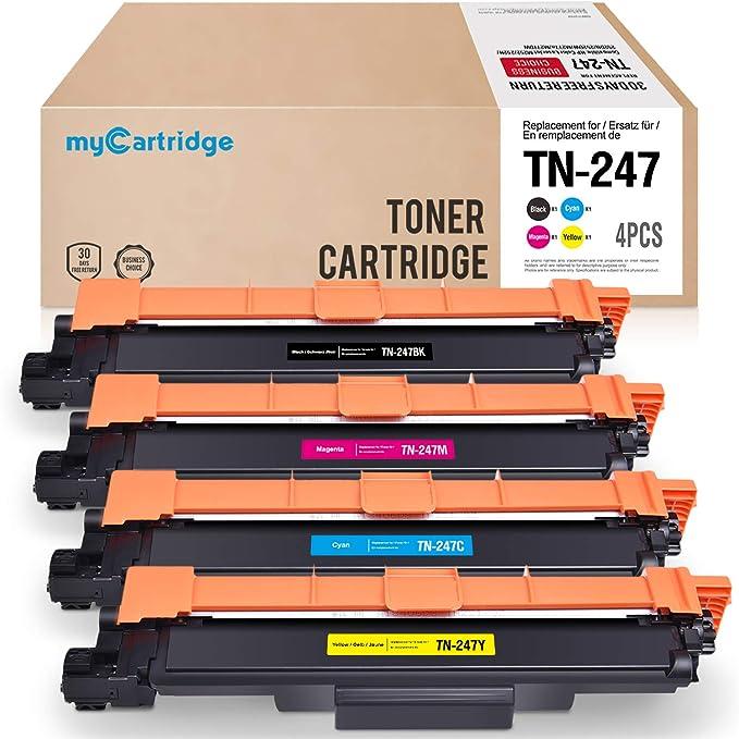 2 opinioni per myCartridge Compatibile Brother TN247 TN-247 TN243 TN-243(Senza Chip)per Brother