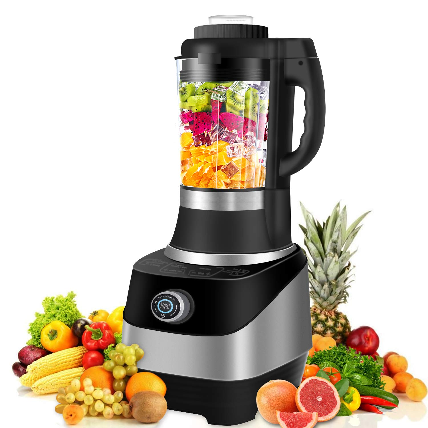 Multifunctional Blender, 4 in 1 Smoothie Blender Baby Food Maker, Soup maker 800W Auto-temperature Control Food Processor, Warm Disinfect