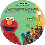 """Children's Personalized SONGS WITH MY NAME - - SING ALONG WITH ELMO AND FRIENDS - - Music CD and """"NEW"""" Digital Content Is HERE! - - """"CUSTOMIZE WHEN ORDERING"""""""