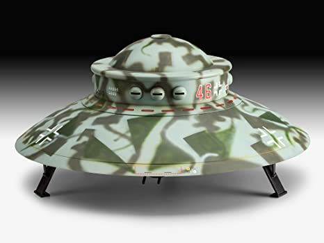 Revell- Maqueta Flying Saucer Haunebu II, Kit Modello, Escala 1:72 (3903) (03903),, Scale: Amazon.es: Juguetes y juegos