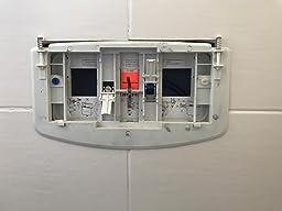 commentaires en ligne regiplast 1620b plaque de commande double d bit pour r servoir. Black Bedroom Furniture Sets. Home Design Ideas