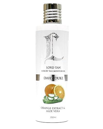 Lord Tan Daily Duke Luxurious Mens Gradual Self-Tanning Moisturiser - 250ml