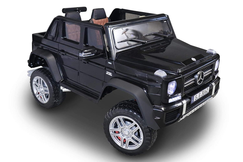 calidad auténtica RIRICAR Coche Coche Coche de Juguete eléctrico Ride-On Mercedes-Benz Maybach G650, PanTalla LCD con Entrada USB   TF, Control Remoto de 2,4 GHz, batería 2 x 12V   7AH, 4  venta con descuento