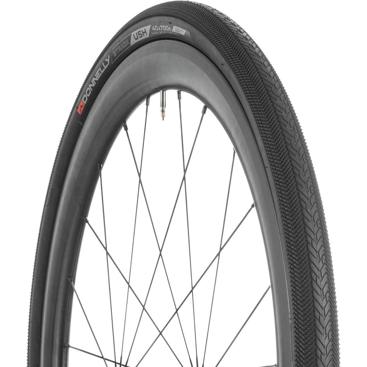 Donnelly Strada USH Tire - Tubeless Black, 700 x 40mm by Donnelly