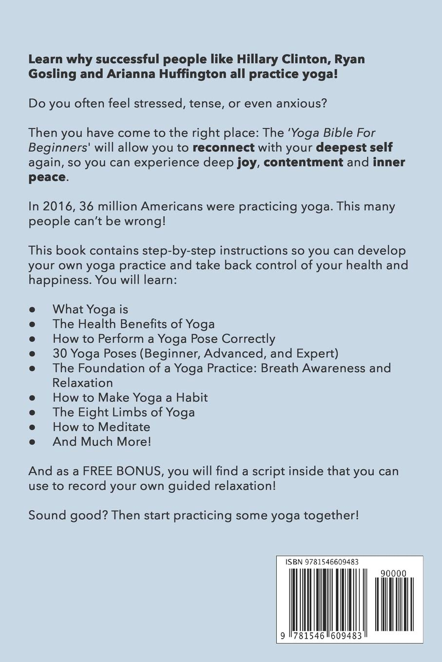 The Yoga Bible For Beginners: 30 Essential Illustrated Poses ...
