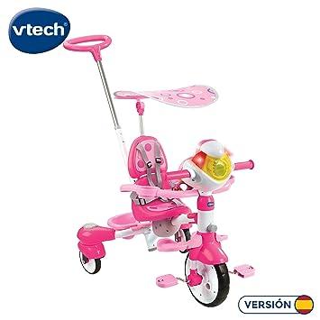 VTech Triciclo Inteligente Evolutivo 4 en 1 tek-Trike, Color Rosa ...