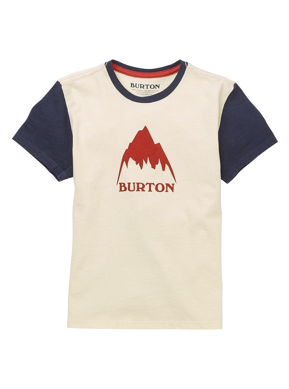 Gray Heather Burton Boys Minishred Classic Mountain High Short Sleeve T-Shirt